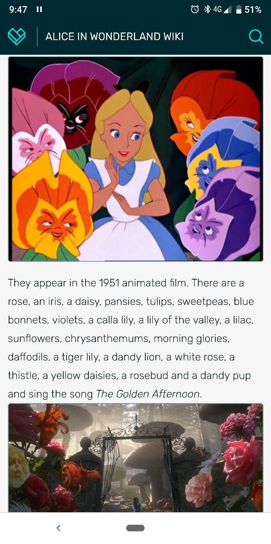 Alice in Wonderland flowers Alice in wonderland flowers