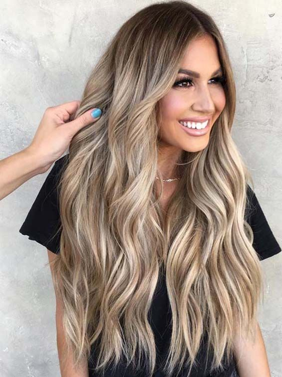 Browse here our adorable ideas of bronde hair colors and highlights for long hair to sport in year 2019. Bronde is also one of the top trends among ladies since last few years, So you must follow our best ever bronde hair colors nowadays.