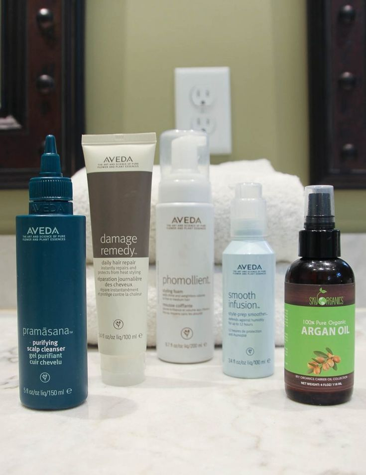 Aveda Hair Products Review | Haircare Routine | Houston Fashion Blogger Lady in Violet #productreview #haircareroutine #haircare