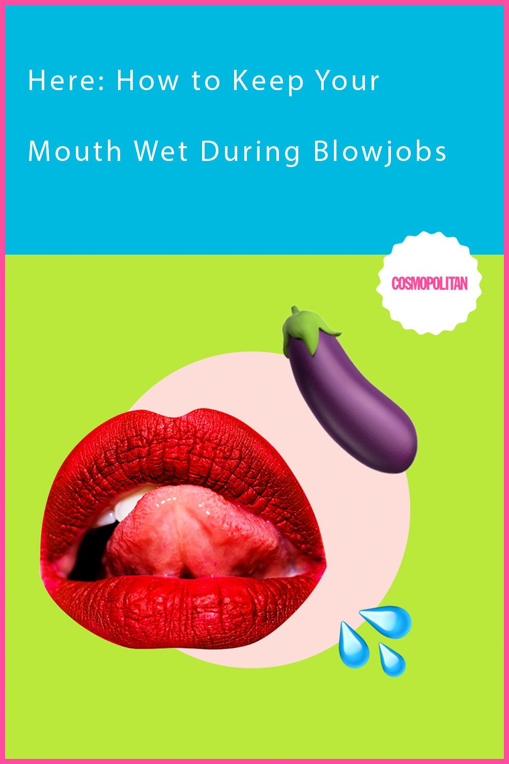 How Do You Keep Your Mouth Wet During Blowjobs?