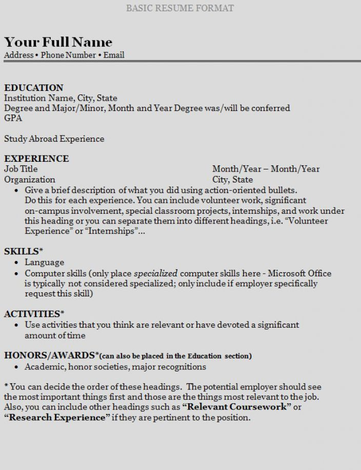 How To Write A Resume Step By Step How To Write A Quick Resume - make a quick resume