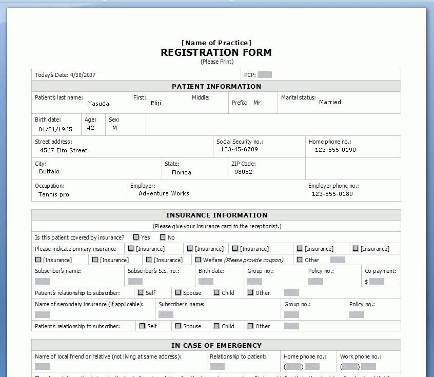 Customer Registration Form Sample 6 Customer Registration Form - customer registration form sample