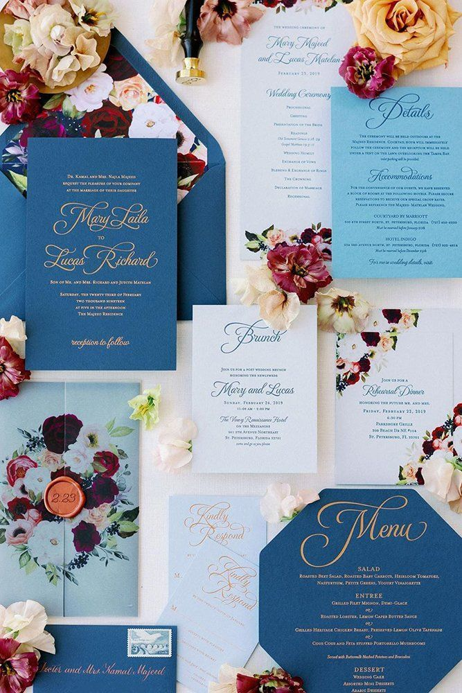 Pantone Color of the Year For Classic Blue Wedding