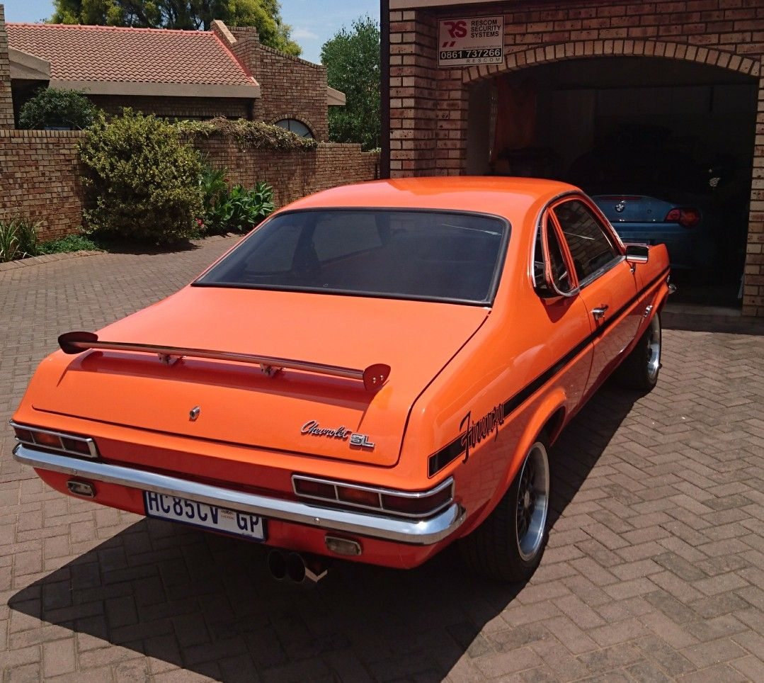 1973 Chevrolet Firenza 2.5 SL Coupe (South Africa)