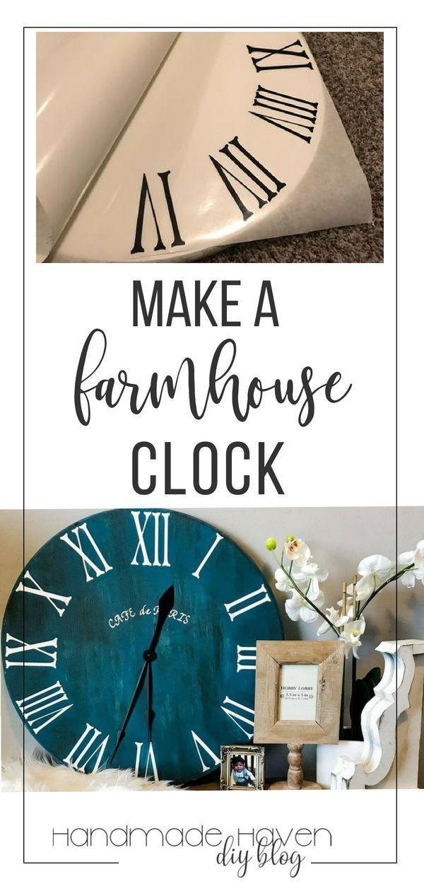 Roman Numeral Clock Tutorial