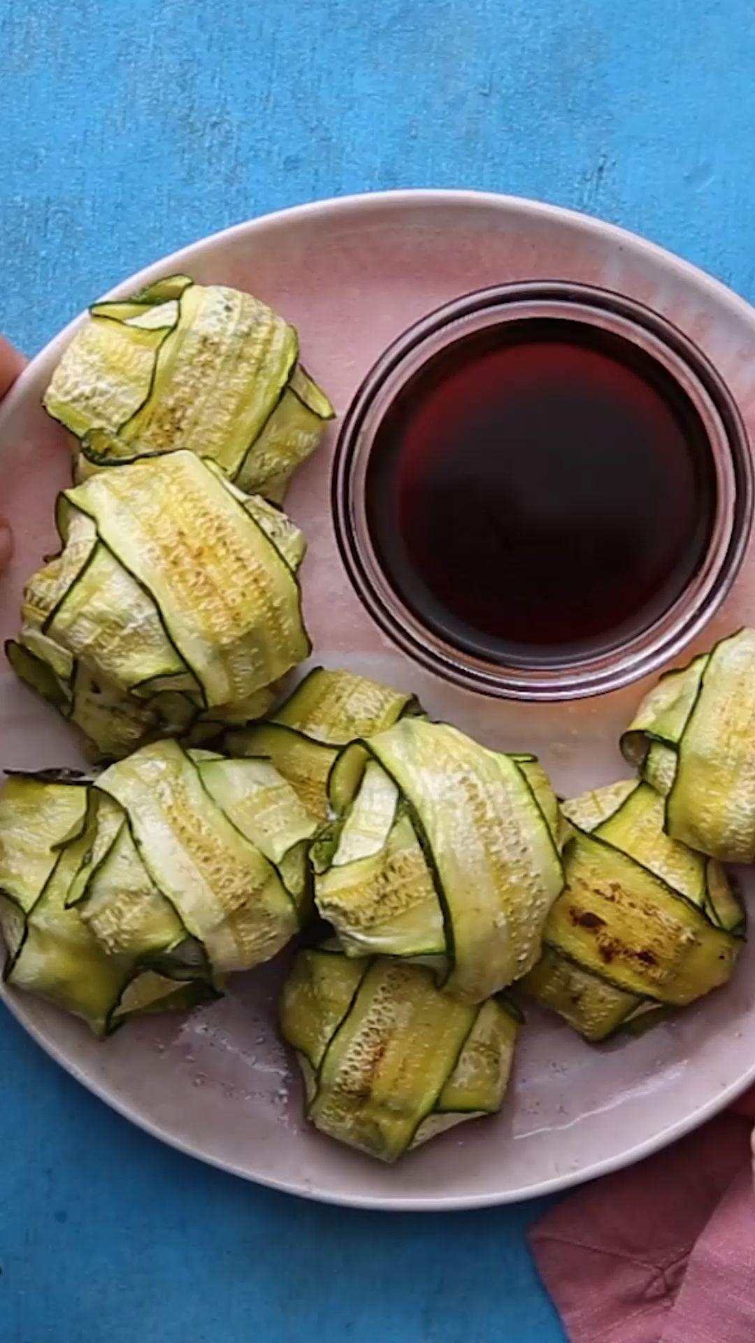 Dumplings de Zucchini