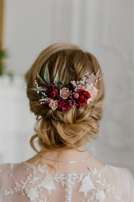 """Beautiful hair comb made with peonies, roses, buds, berries and greenery. ————-IMPORTANT TO READ————- Waiting list is full now. This item will be carefully made and ship during 7-13…More <a class=""""pintag"""" href=""""/explore/WeddingHairs/"""" title=""""#WeddingHairs explore Pinterest"""">#WeddingHairs</a><p><a href=""""http://www.homeinteriordesign.org/2018/02/short-guide-to-interior-decoration.html"""">Short guide to interior decoration</a></p>"""