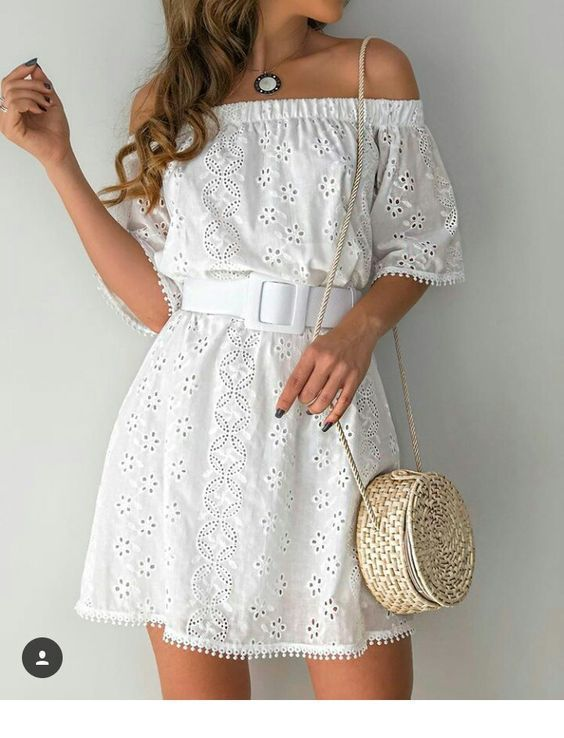 I want a white summer dress like this