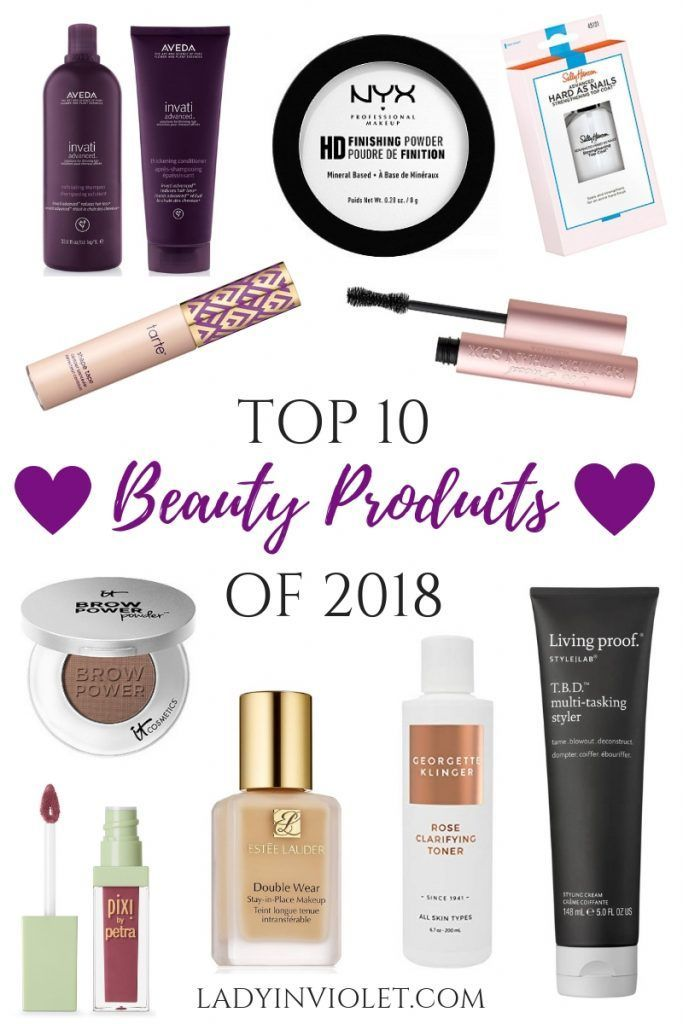 best beauty products of 2018 | Houston Blogger Lady in Violet #beautyproducts #makeup