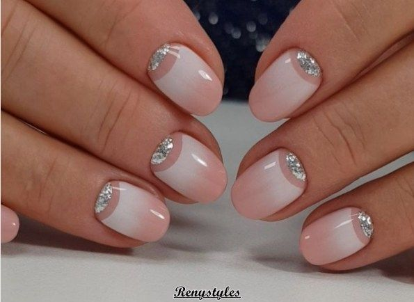 Newest French Nail Designs – Reny styles