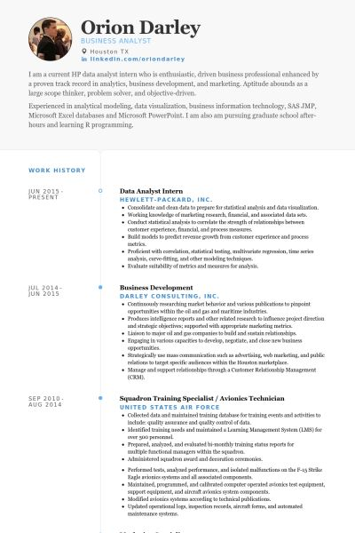 Consultant Analyst Resume Financial Consultant Resume Example - data analyst resume