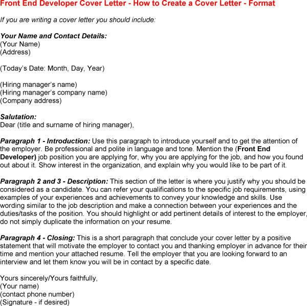 Best Way To Finish Cover Letter | Cover Letter