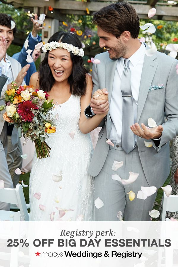 """Macy's Weddings & Registry 