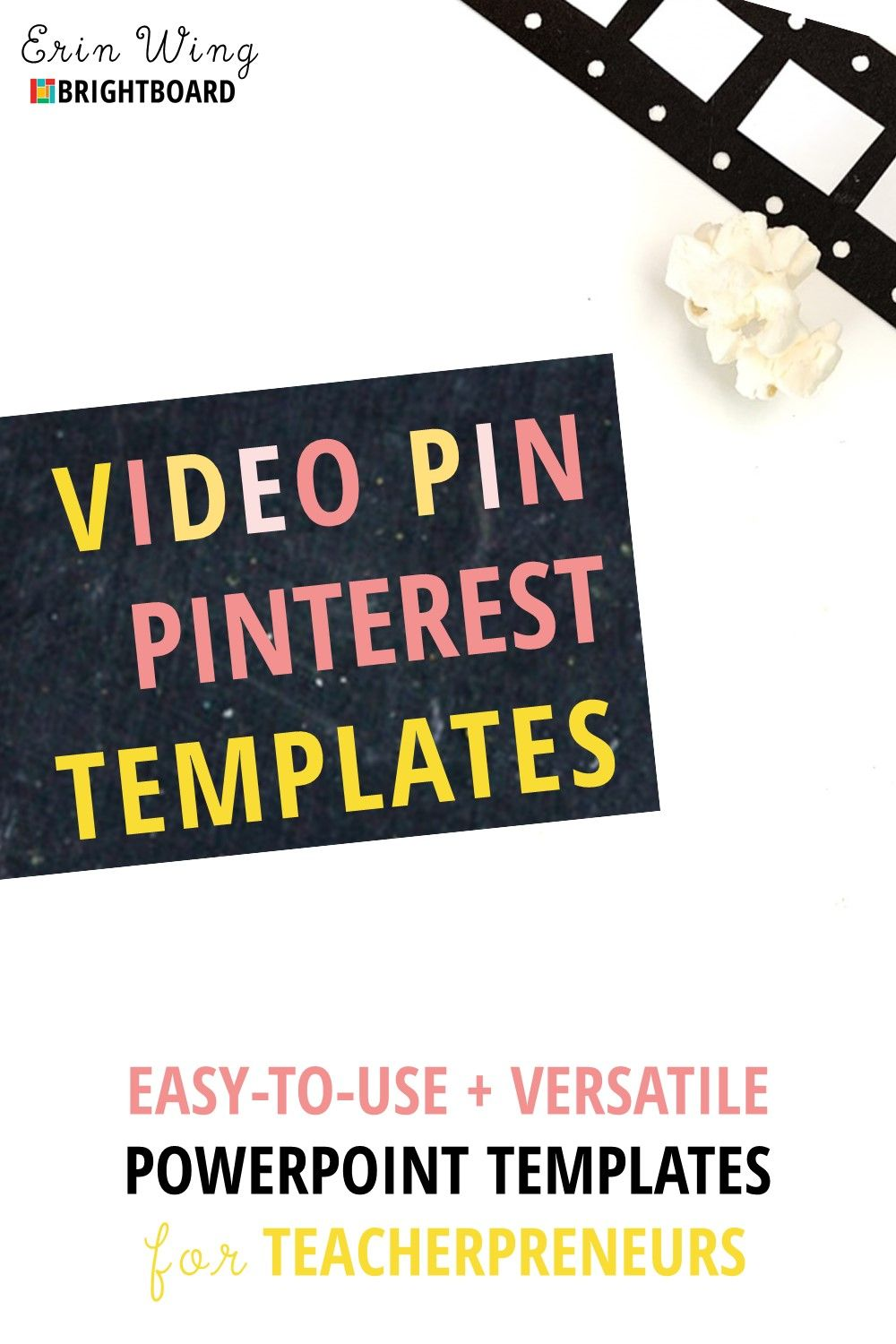 Video Pin Templates for TpT Sellers