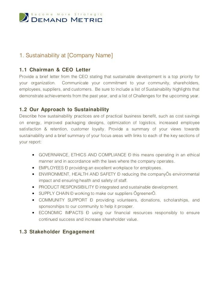 Business Report Template 8 Business Report Template Free Word - company report template