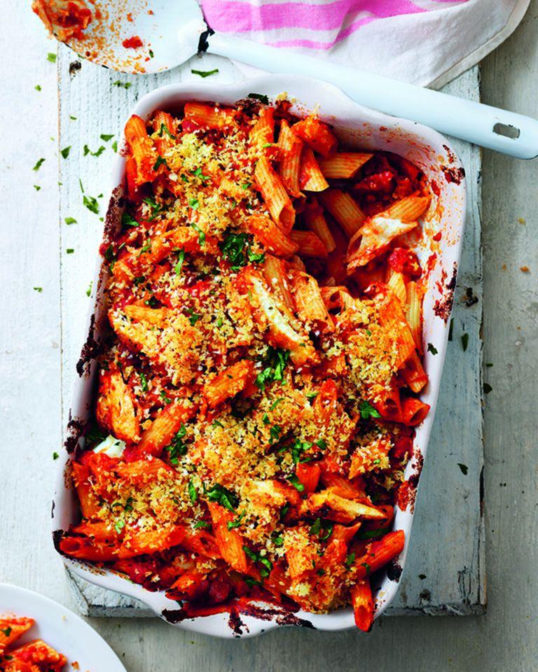 Chicken parmigiana bake | delicious. magazine