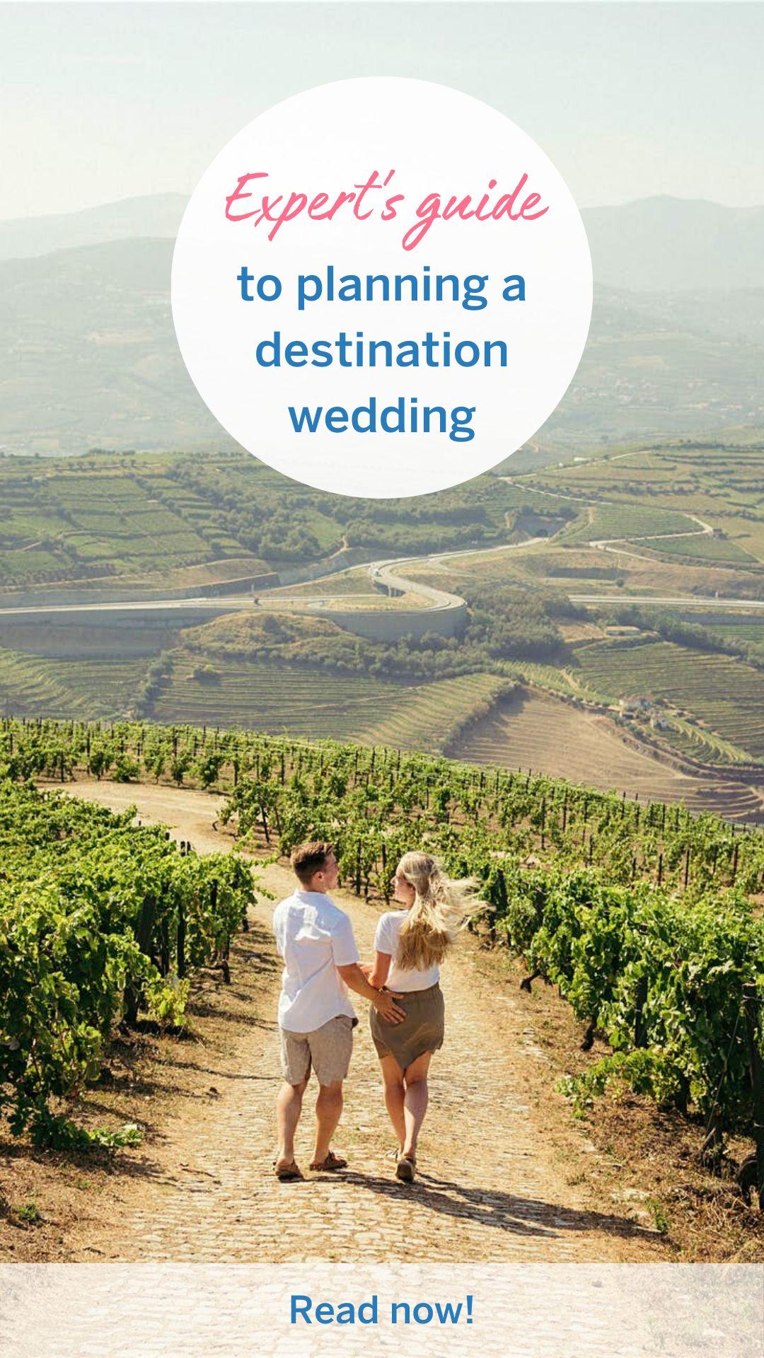 An expert's guide to planning a destination wedding
