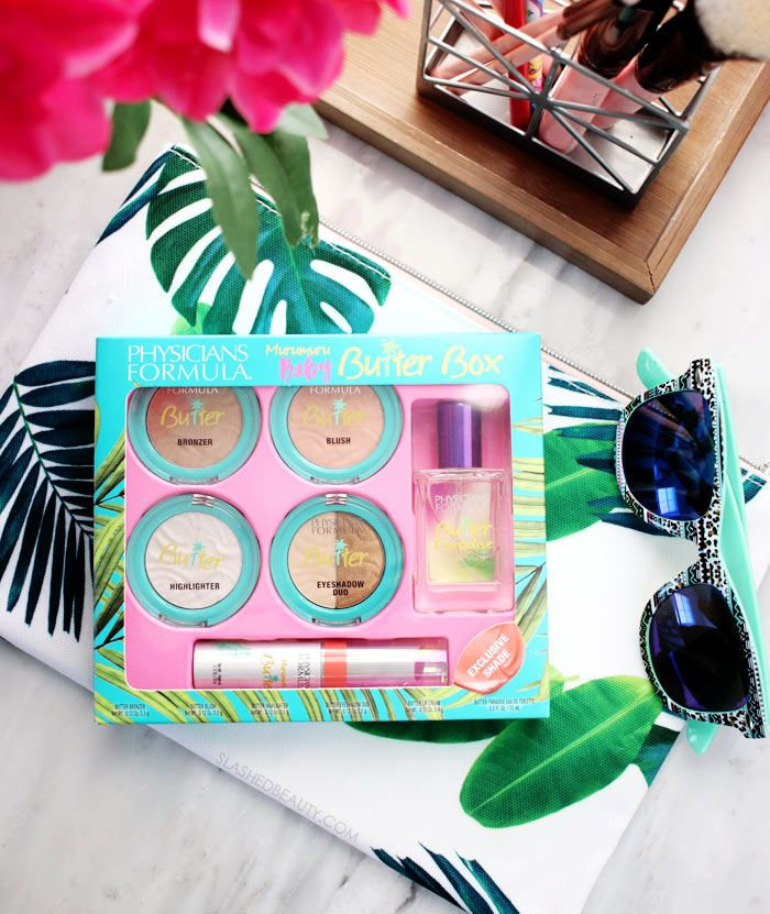 Take a look inside the Physicians Formula Murumuru Baby Butter Box. See swatches and a full look you can create with what's inside this limited edition set. #ad