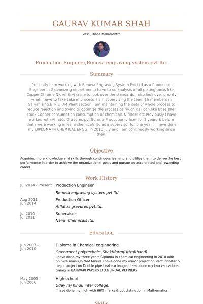 television production engineer resume cvresumeunicloudpl