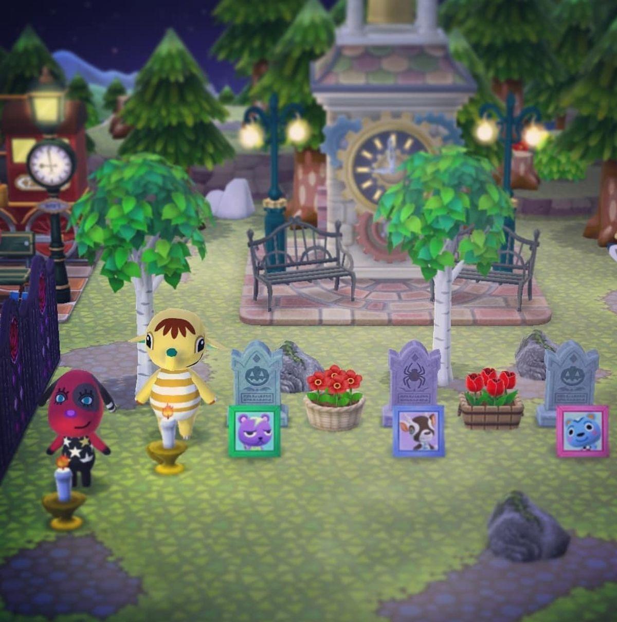 Animal Crossing Pocket Camp Spooky Halloween Campsite