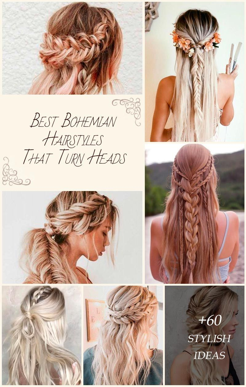 Bohemian hairstyles are oriented on romantic souls who wish to look amazing. We have picked the most flattering boho hairstyles for you to try.#glaminati #lifestyle #bohemianhairstyles