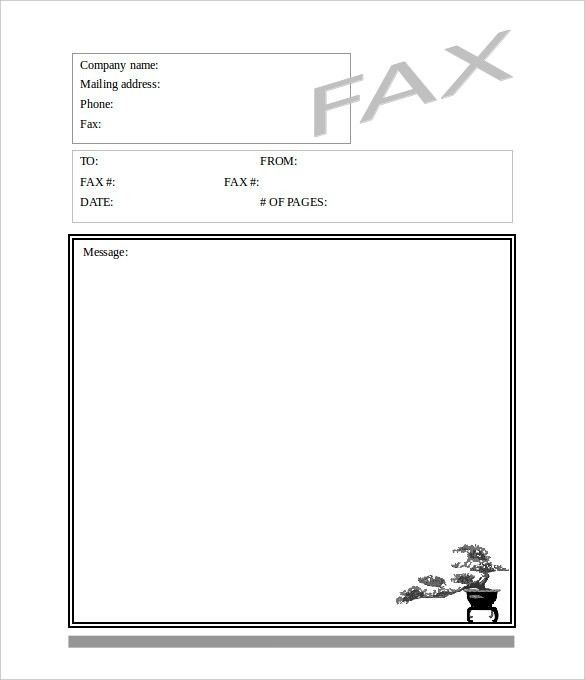 Free Fax Template Free Fax Cover Sheet Template Printable Fax - fax cover sheet free