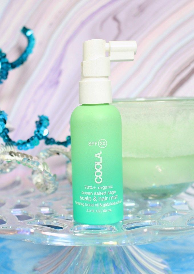 COOLA Scalp Hair Mist SPF Check out the best hair products to get the most fabulous beachy waves, treat, & style them on All Things Beautiful XO