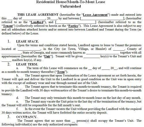 Apartment Lease Agreement Template Lease Agreement Create A Free - apartment rental contract sample