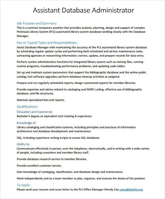 Contract Administrator Resume Top 8 Construction Contract - sample database administrator resume