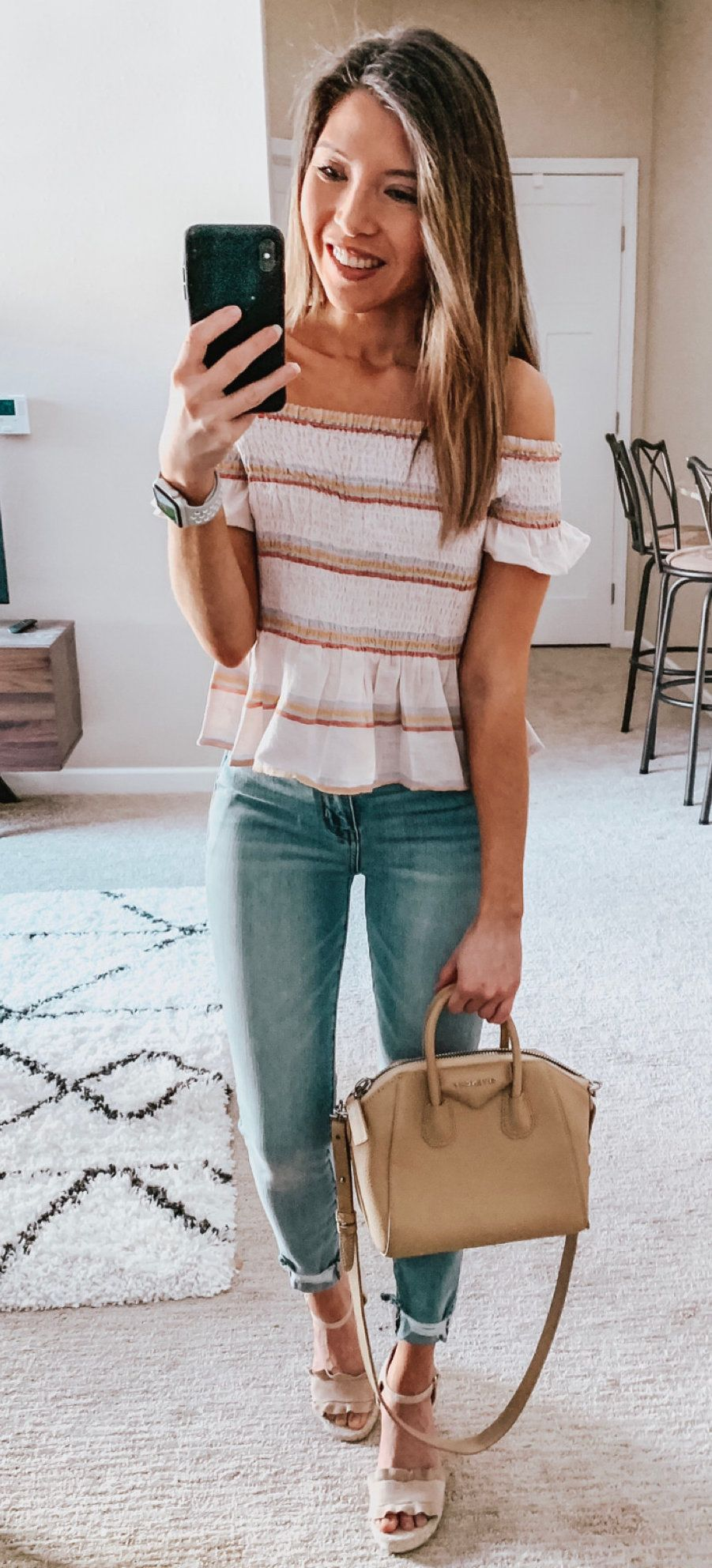 blue jeans #spring #outfits