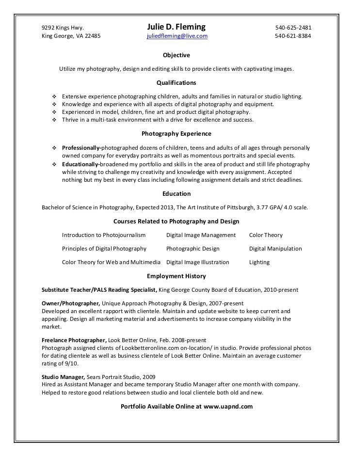 photography resume samples unforgettable senior photographer photography resume sample - Photographer Resume Sample