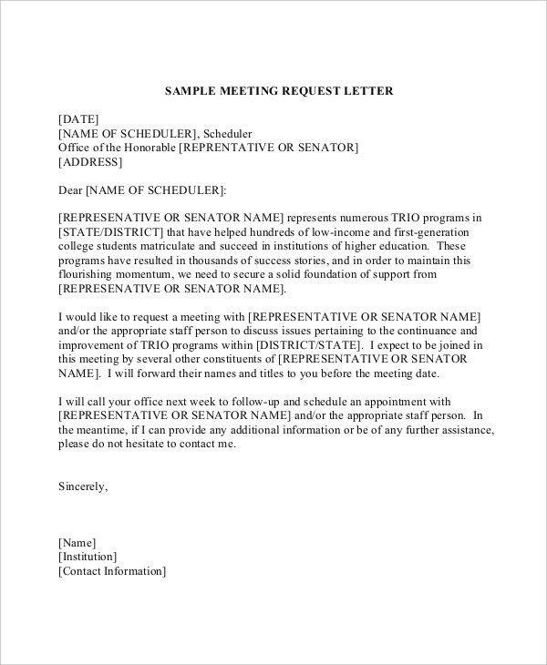 Formal Letter For Request Sample Formal Request Letter 8 - formal request letter
