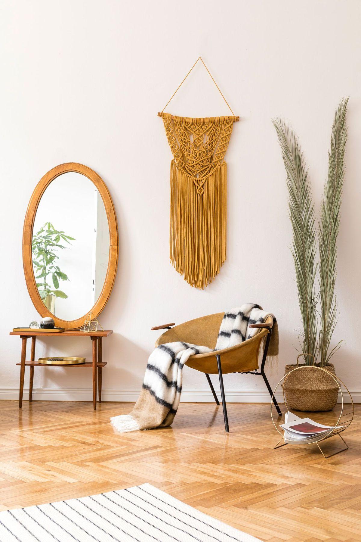 Flur dekorieren mit Wanddeko