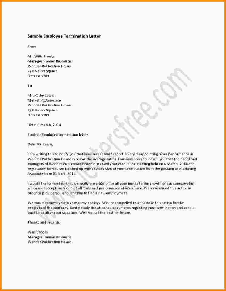 Termination Of Employee Letter Free Termination Letter Template - job termination letter