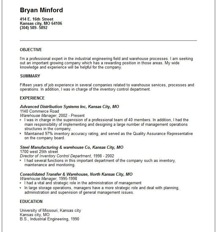 Examples Of Summary Statements For Resumes - Examples Of Resumes