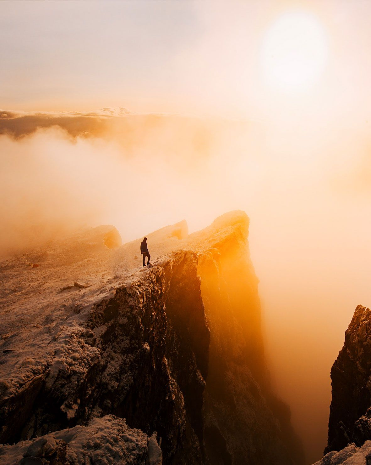 Sunrise at Piz Fess, Lopentine Alps, by Florian Wenzel.