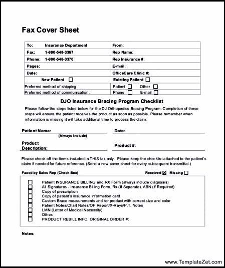 Fax Sheet Example 10 Fax Cover Sheet Templates Free Sample - sample cute fax cover sheet
