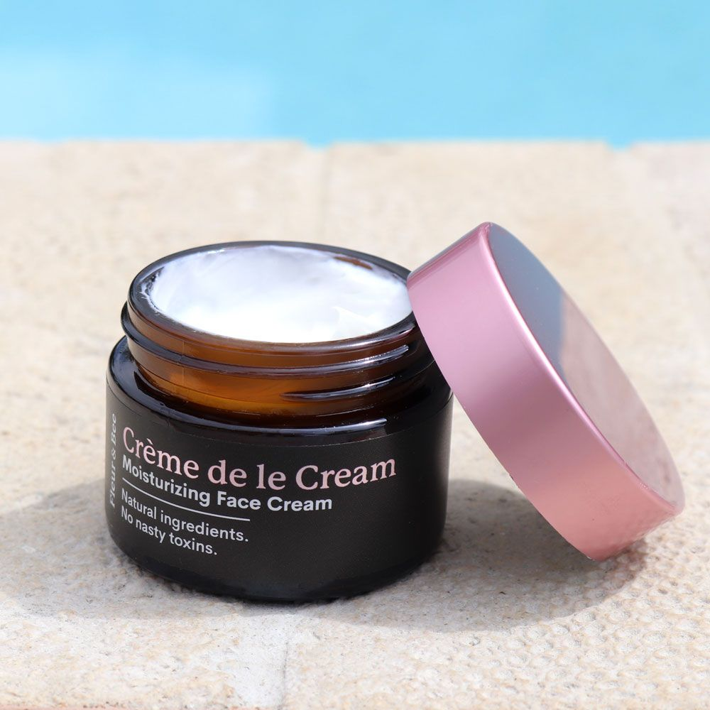 AD Creme de la Cream Fleur and Bee Moisturizing Face Cream Review #crueltyfree #vegan #skincare #beauty