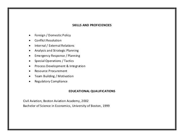 Special Skills Resume] Sample Of Special Skills In Resume Gallery .  Special Skills For Resume