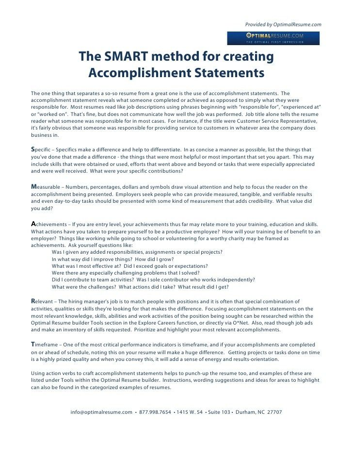 Resume Accomplishment Statements Examples Admin Resume Example - resume accomplishments examples
