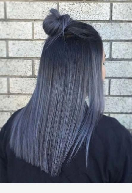 Color of hair is nice