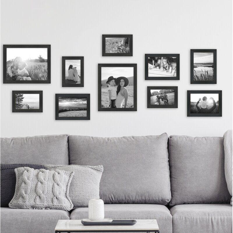 10 Piece Emborough Gallery Essential Picture Frame Set
