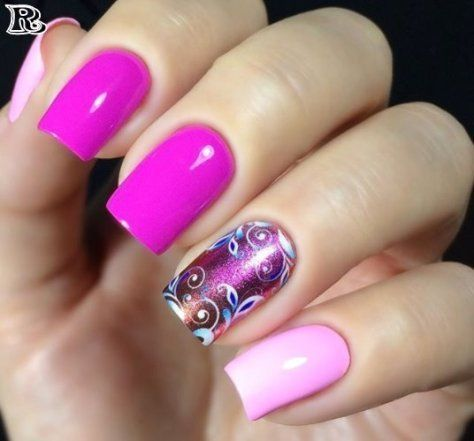 Flowers Nail Art New Idea for Spring – Reny styles