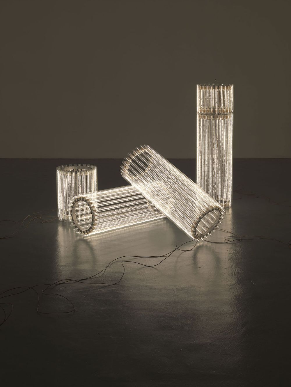 Cerith Wyn Evans, Column (Assemblages) I, 2010 © Cerith Wyn Evans. Courtesy White Cube. Photo: Todd-White Art Photography.