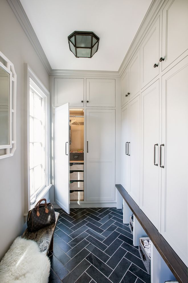 Mudroom lockers with doors I tend to prefer mudroom lockers with doors to keep everything hidden and organized, but make sure to leave an open space for shoes or baskets under the bench, like we see above Mudroom lockers with door ideas Mudroom lockers with door design Mudroom lockers with doors Mudroom custom Cabinet Mudroom lockers with doors #mudroom #mudroomdesign #mudroomcabinet #mudrooms #Mudroomlockers #Mudroomlockerswithdoors