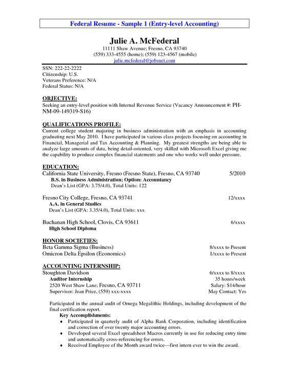accounting internship resume samples accounting intern resume