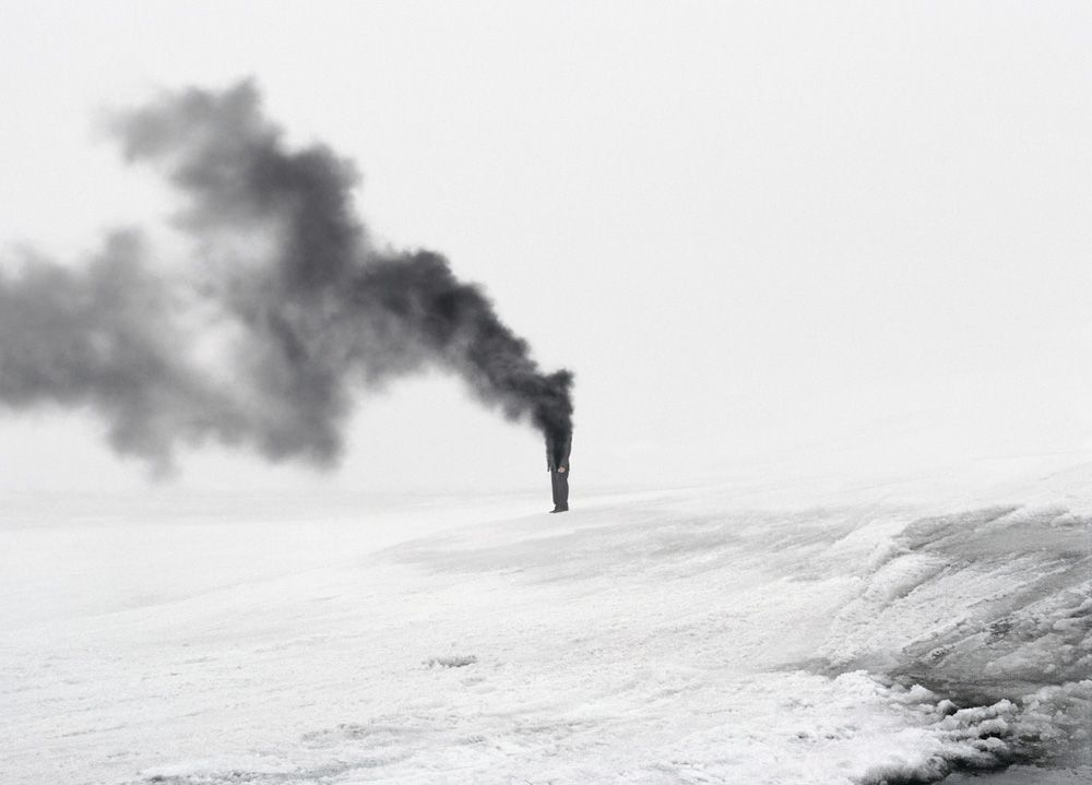 Andrea Galvani © 2007, The Intelligence of Evil #6 C-print mounted on aluminum dibond 90 x 128 cm // 35.5 x 50.4 inches Edition of 5 + 3 AP, Courtesy the artist