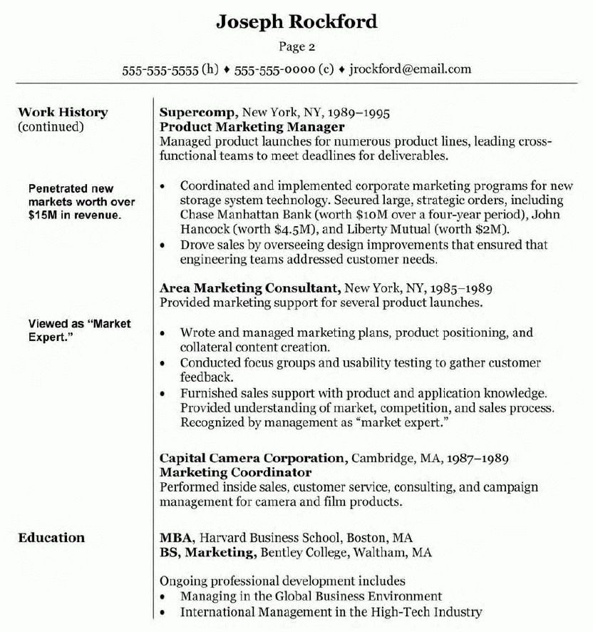 Sample Marketing Director Resume Marketing Manager Resume Free - marketing director resume examples
