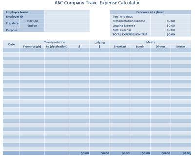 employee contact list template