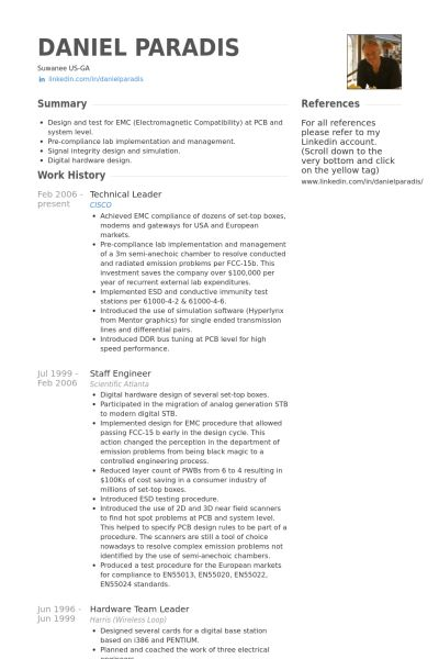 Team Leader Resume Examples Unforgettable Team Lead Resume Examples - technical lead resume